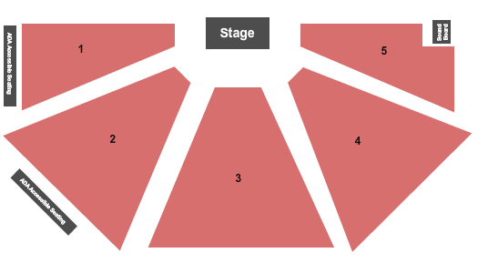 Under The Tent at The Ridgefield Playhouse Seating Chart