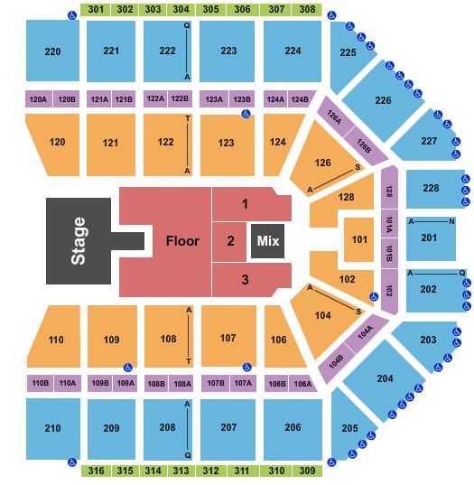 Van Andel Arena seating chart event tickets center