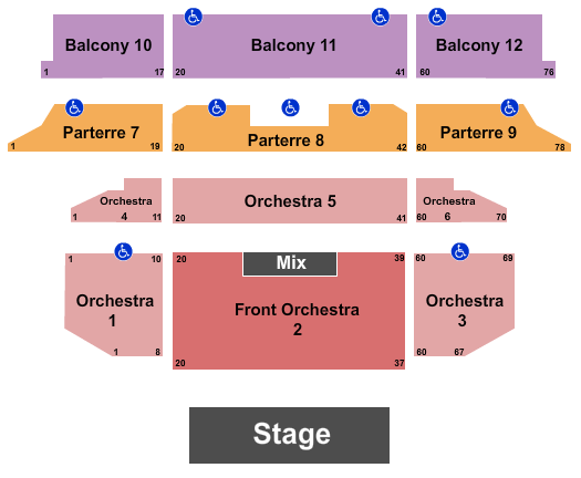 Venetian Theatre At the Venetian Hotel Las Vegas seating chart event tickets center