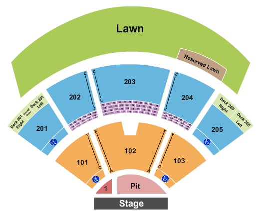Veterans United Home Loans Amphitheater seating chart event tickets center