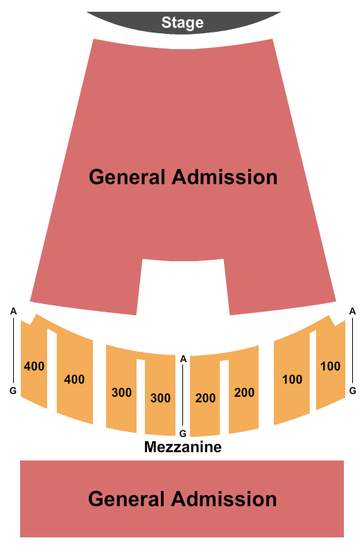 Vic Theatre seating chart event tickets center