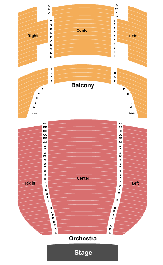 Victory Theatre - IN seating chart event tickets center