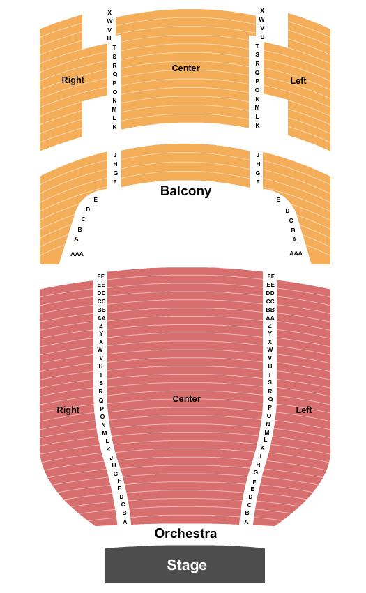 Victory Theatre - IN Floor Plan