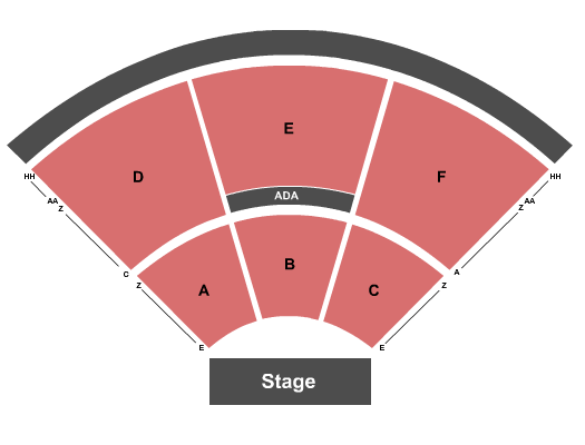 seating chart for Virginia Credit Union LIVE! at Richmond Raceway Endstage - Row E start - eventticketscenter.com
