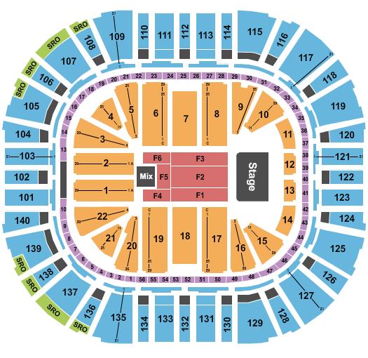 Vivint Smart Home Arena Floor Plan