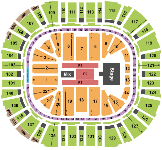 Vivint Smart Home Arena seating chart event tickets center