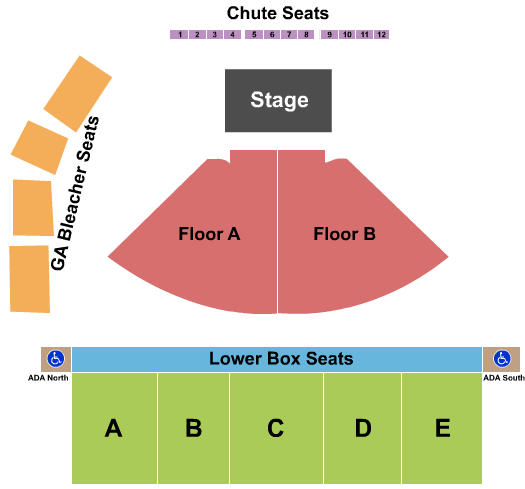 Walla Walla County Fairgrounds seating chart event tickets center