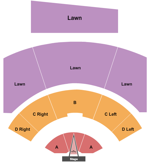 Walmart AMP seating chart event tickets center