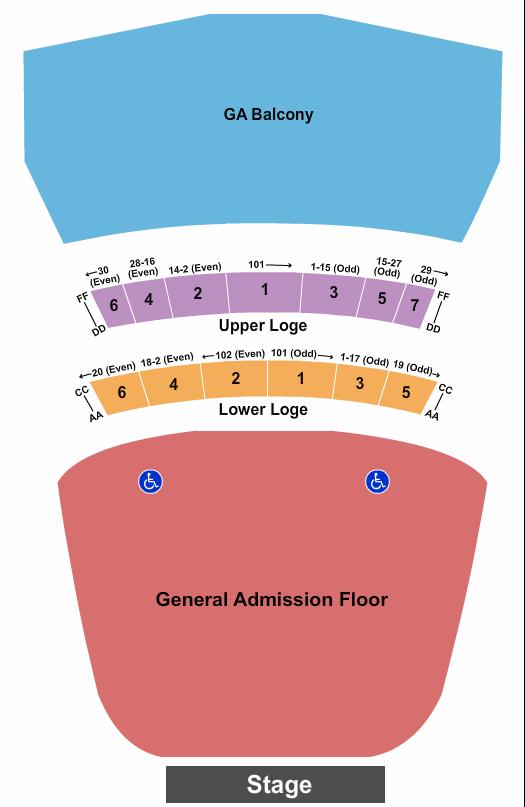Warfield Seating Chart