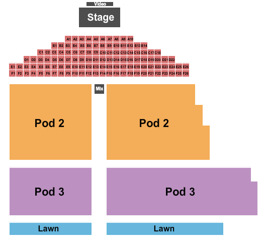 Louisville Waterfront Park seating chart event tickets center