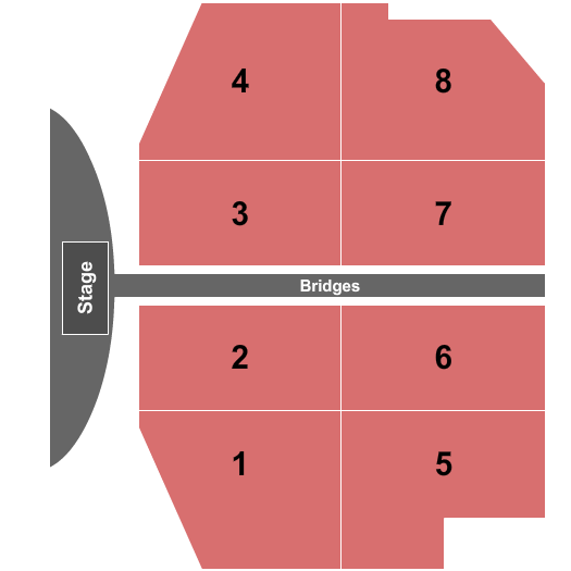 Watergarden Park At American Bank Center seating chart event tickets center