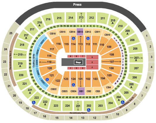 Wells Fargo Center - PA Floor Plan
