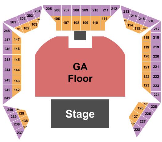 Westville Music Bowl seating chart event tickets center