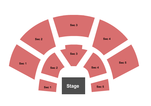 Wolf Theatre - CO Seating Chart Plan