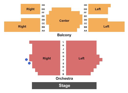 Woodstock Opera House Floor Plan