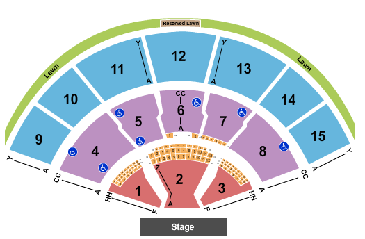 Xfinity Center - MA seating chart event tickets center