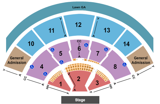 Xfinity Center - MA Floor Plan