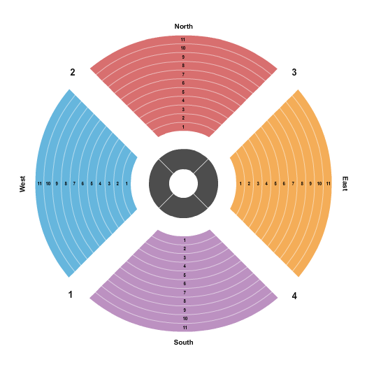 Young Living Centre Stage at Hale Centre Theatre Seating Map