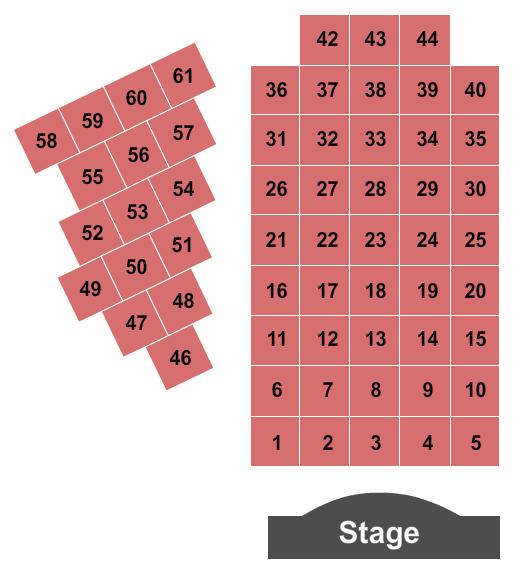 Yucaipa Performing Arts Center Seating Chart