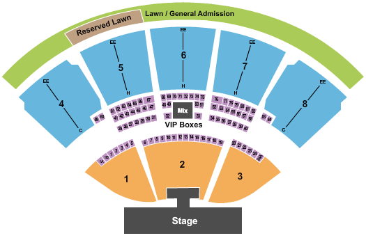 iTHINK Financial Amphitheatre Rascal Flatts seating chart - eventticketscenter.com